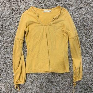 Mustard Long Sleeve from ZARA